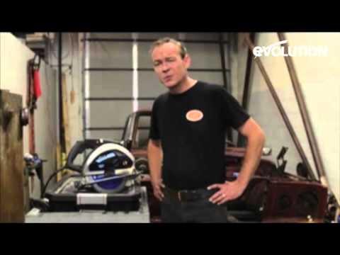Evolution Evosaw230 : How to cut a Car in half!