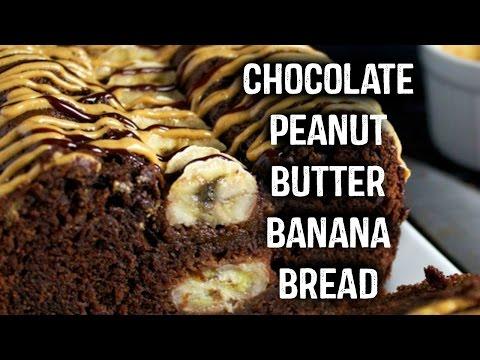 Chocolate Peanut Butter Banana Bread