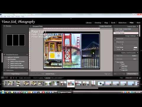 Adobe Lightroom 4 Print Module
