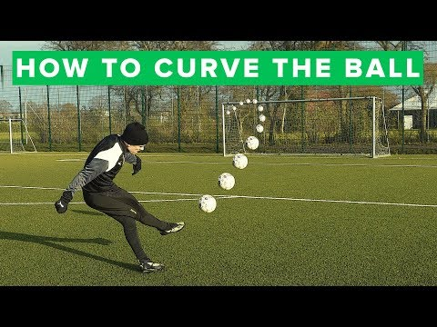 How to curve the ball | Learn bending free kick