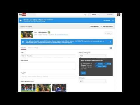 (2013) How to upload video without getting Copyright or Blocked Worldwide (part 2/2)