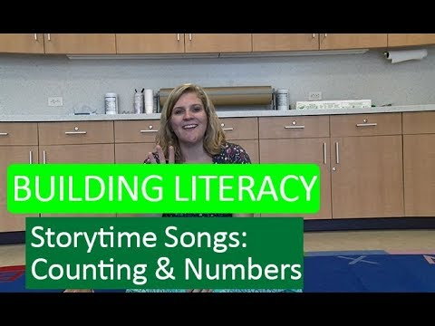 Building Literacy with Storytime Songs - Counting & Numbers