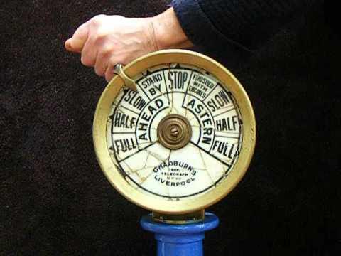 Small Telegraph - Chadburn Ships' Telegraph Society