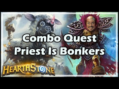 [Hearthstone] Combo Quest Priest Is Bonkers