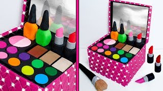 Download Play Doh MAKE UP Cosmetics Box Making DIY for Kids Video