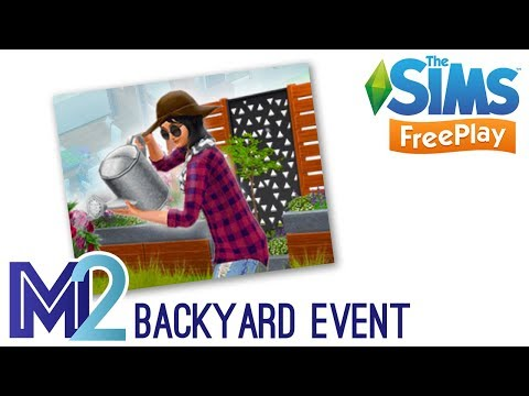 Sims FreePlay - Backyard Event Prizes (Early Access Preview)