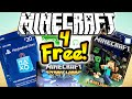 HOW TO GET MINECRAFT FOR FREE! XBOX, PSN & STEAM CARDS FOR FREE!