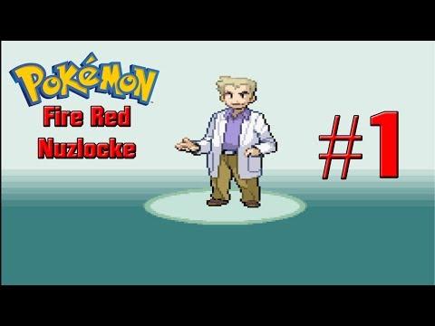 Pokemon Fire Red Randomized Nuzlocke Part 1 The Start Boys