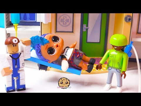 Xxx Mp4 Fake Doctor At Hospital Roblox Playmobil LOL Surprise Punk Boi Play Video 3gp Sex