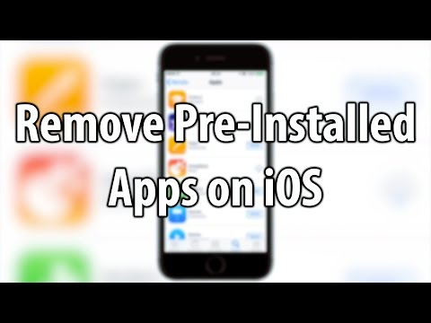 How To Delete And Restore Pre-Installed Apps on iOS