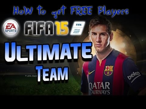 Get Free players on Fifa15 Ultimate Team