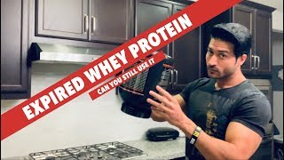 Expired Whey protein - Can you still use it | Advice by Guru Mann