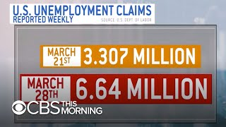 Expert reacts to mounting jobless claims amid coronavirus pandemic