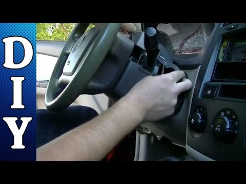 How to Remove and Replace an Ignition Lock Cylinder - Kia Spectra