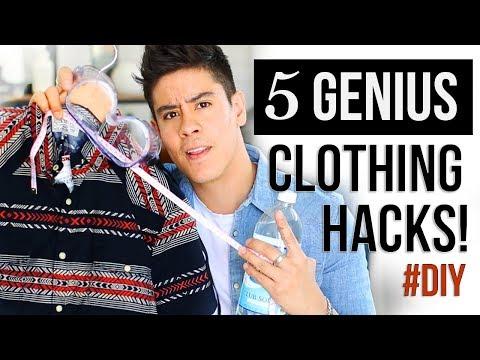 GENIUS CLOTHING HACKS you HAVE TO TRY! #DIY | JAIRWOO
