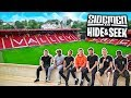 SIDEMEN HIDE amp SEEK IN A FOOTBALL STADIUM
