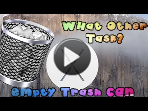 How to fix other Task Error when empting trash can (MAC)
