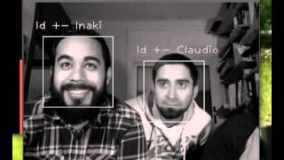 Creating a face-recognising security cam with a