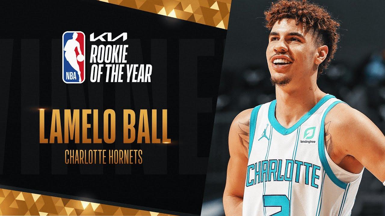 LaMelo Ball Wins #KIAROY Rookie of The Year! | 2020-21 NBA Season
