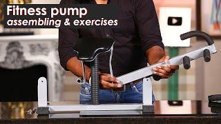 Fitness Pump Assembling   Full Body Fitness Equipment   Best Upper Body Workout Equipment
