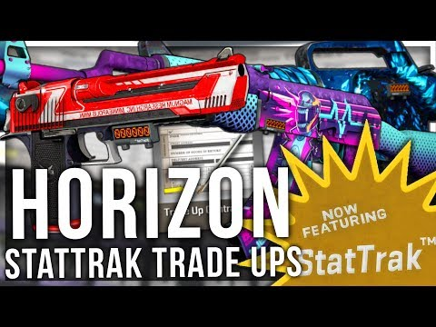 HORIZON CASE STATTRAK TRADE UPS (INSANE LUCK)