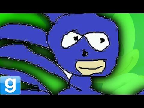 SUPER-FAST RUNNING MOD!!! Gmod Sonic SWep (Garry's Mod)
