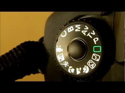 Canon 60D Mode dial Tutorial - Basic Tutorial video 2