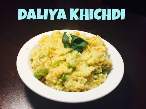 Dalia khichdi   Healthy and nutritious breakfast for kids   broken wheat recipe