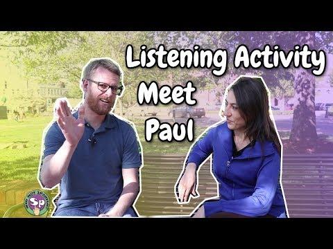 Interview in Spanish - Meet Paul | Spanish Listening Activity