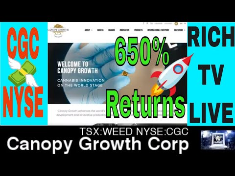 Canopy Growth Corporation NYSE: CGC TSX: WEED now trading on the New York Stock Exchange