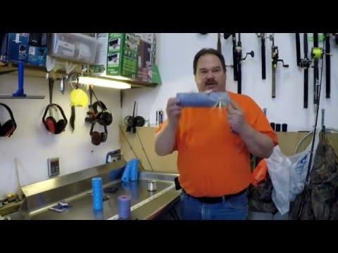 Fishing Leader Swim Noodle Hack!  Make your own rig holder.