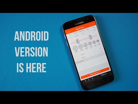 The Android Version of the ThinkEatLift Workout App