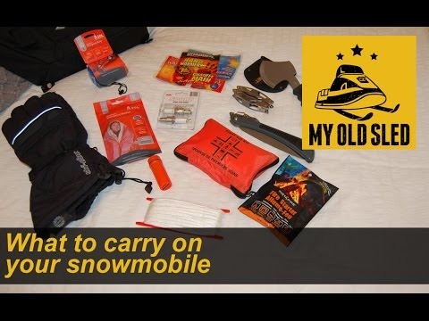 What to carry on your snowmobile - MyOldSled S2E16