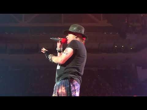 "Guns N Roses ""Prostitute"" Hartford CT, Oct 23 2017"