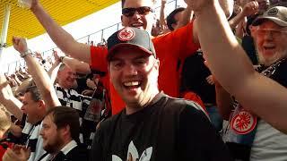 Einwechslung & letztes :( Tor: Alex Meier Fußballgott - SGE vs HSV 3:0 05/05/2018