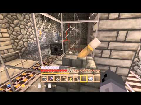 How To Get Unlimited Powered Rails Using Redstone - Minecraft Xbox 360 Tutorial
