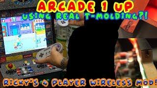 Arcade 1Up - Building a Custom Control Deck! - Vidly xyz