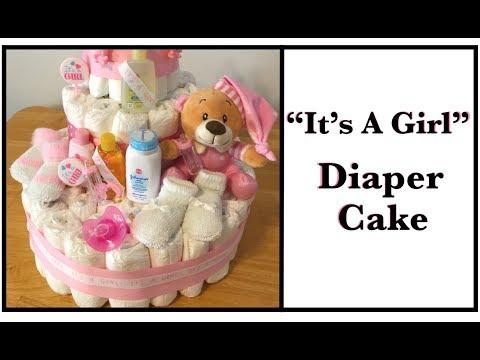 How to Make a Diaper Cake -