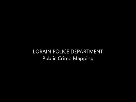 Lorain Police Department Public Crime Mapping
