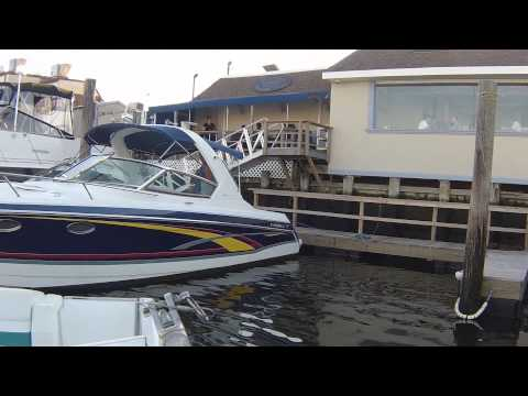 How to Dock a Power Boat (Simple Lesson) Twin Screws ♦ 350cu  x 2