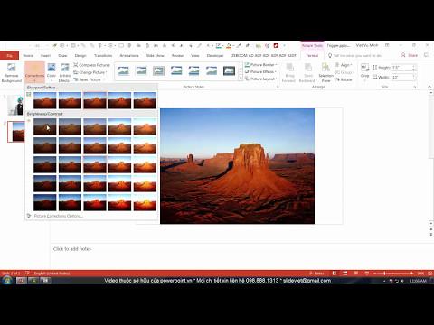 HỌC SLIDE POWERPOINT - P2 KỸ THUẬT VẼ HÌNH - 2.26 Picture Tool - Effect hiệu ứng đồ họa