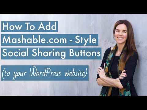 Add Mashable.com - Style Social Sharing Buttons (WordPress + Mashshare) - 2016
