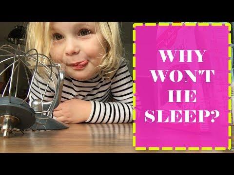 WHY WON'T HE SLEEP? DAILY VLOG | SLEEP REGRESSIONS | DITL