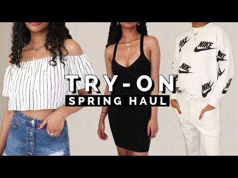 HUGE SPRING TRY ON HAUL 2018 ➟ F21, Zara, H&M, More!