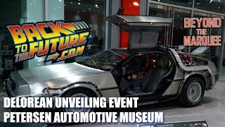 Back to the Future DeLorean Unveiling Event (BTM: the Web-Series, Ep.85)
