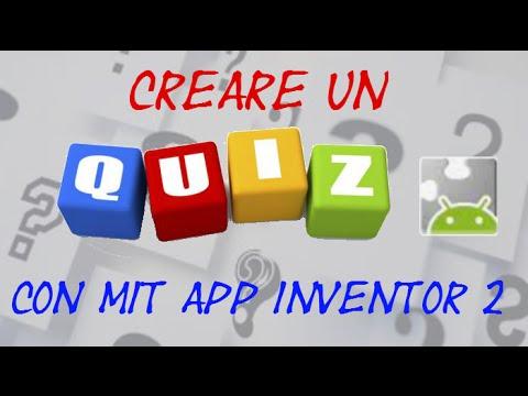Mit App Inventor 2 ITA# Tutorial 37 QUIZ a risposta multipla parte 1