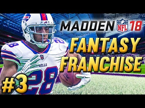 ROOKIE BREAKS OFF BEAST MODE RUN! | Madden NFL 18 Fantasy Draft Franchise Ep.3