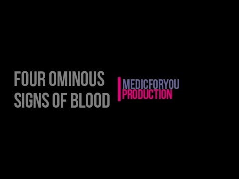 Four Ominous Signs Of Blood Work