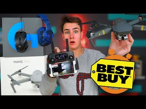 $1,000 DJI Mavic Drone - Best Buy 5 Minute Speed Shopping