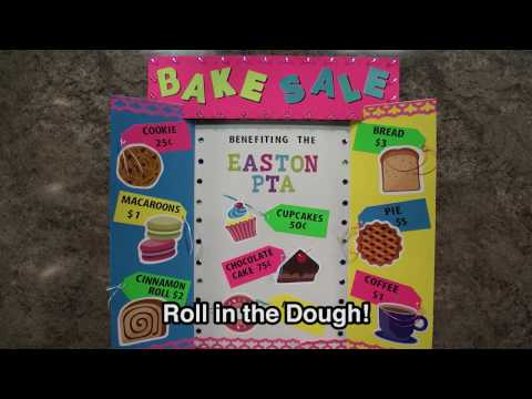 Sell More Cookies with a Great Sign! | Bake Sale Poster Idea